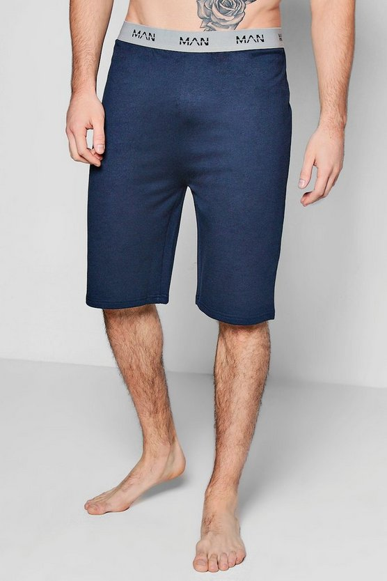MAN French Terry Lounge Shorts