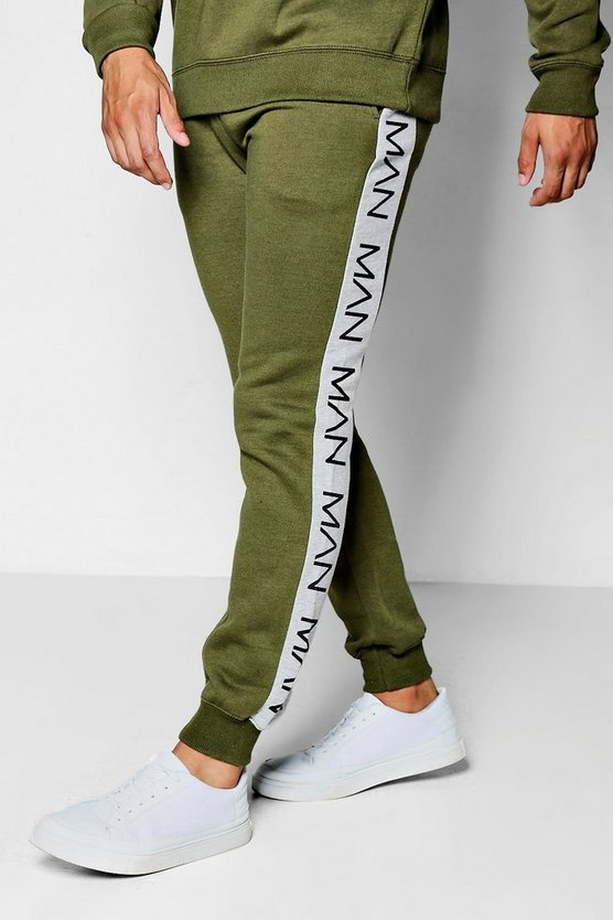 Slim Fit MAN Panel Jogger
