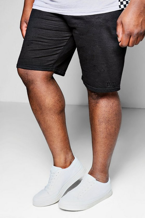 Grandes tailles Jersey Short mi-long MAN