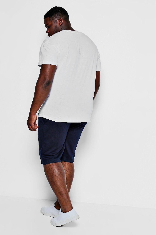 Ball Big charcoal And Tall Jersey Basket MAN Shorts 44UPwTq