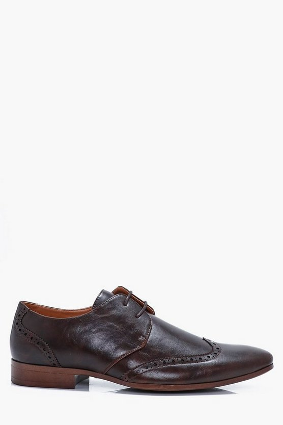 Smart Lace Up Brogue