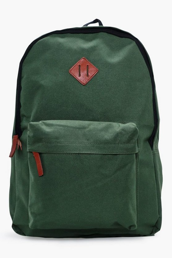 Plain Canvas Backpack