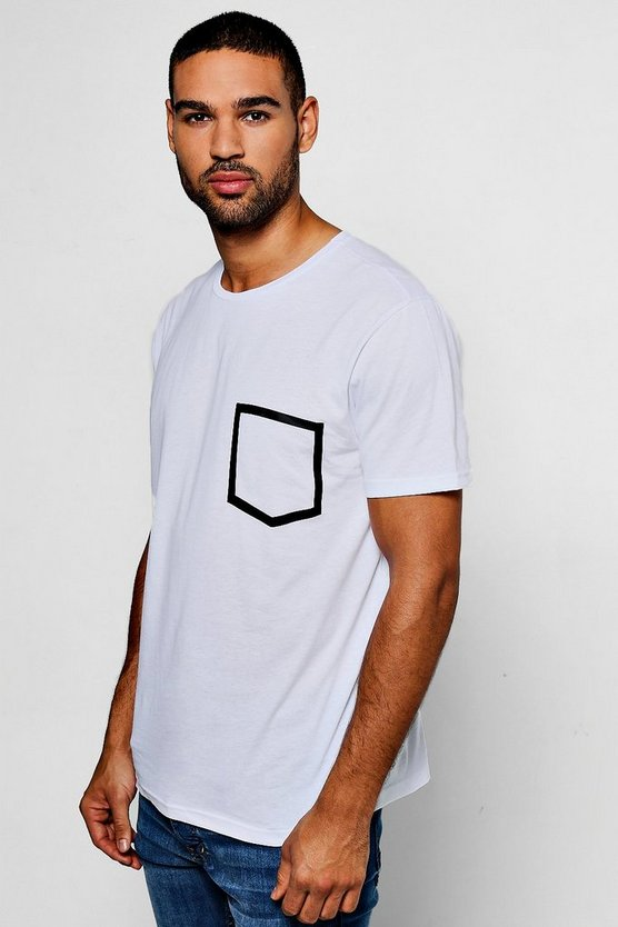 Printed Pocket T-Shirt