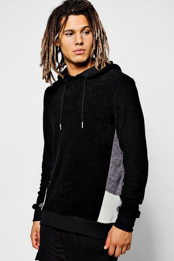 Cut And Sew Over The Head Hoodie