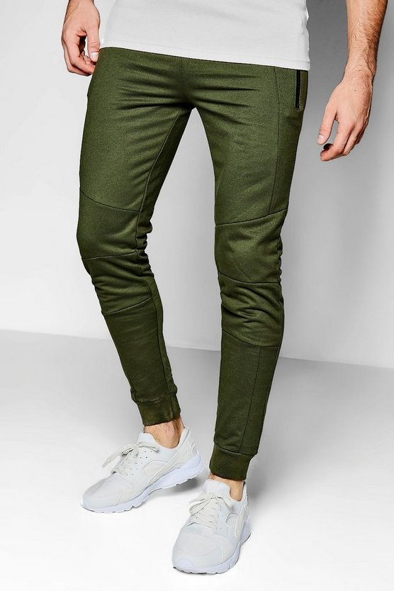 Skinny Fit Panel Jogger