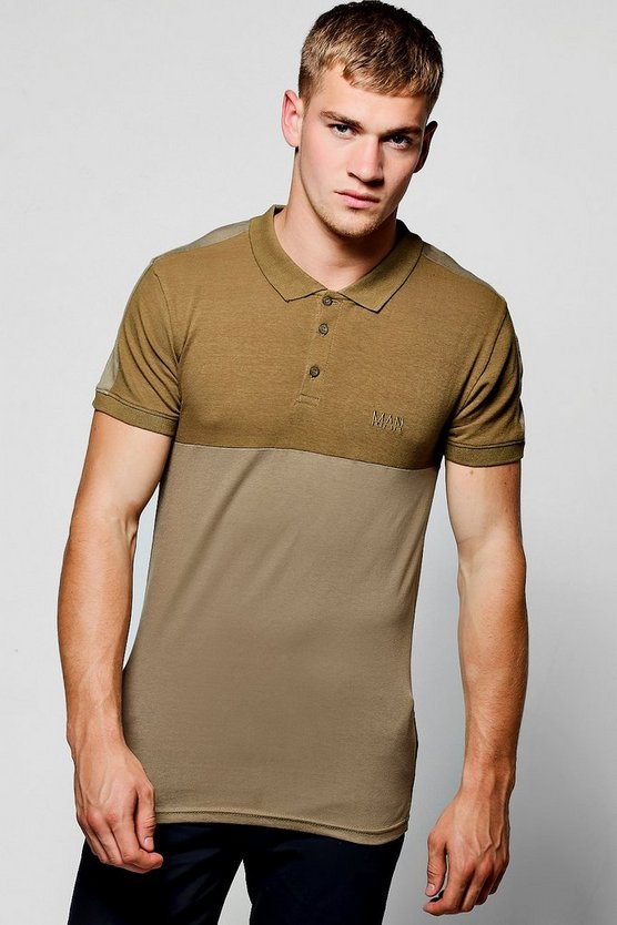 MAN Muscle Fit Polo