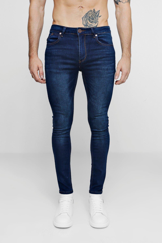 Skinny Washed Jeans Fit Super Indigo indigo Dark T6qHtwxw