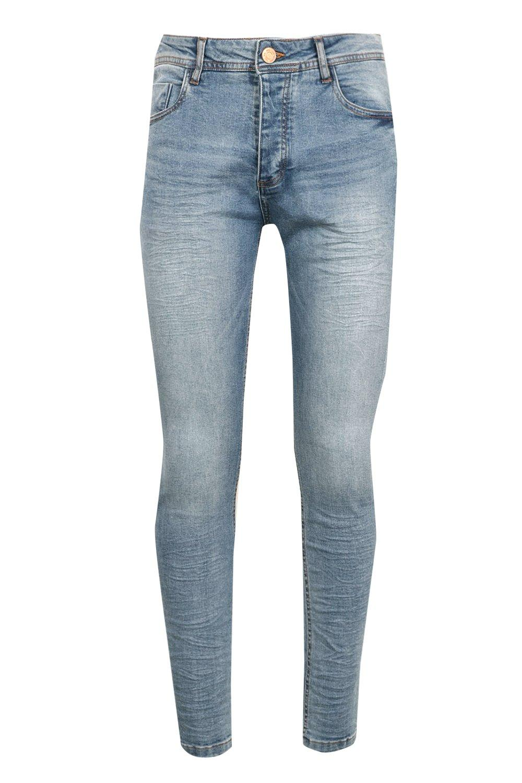 Wash Blue Denim blue Jeans Stretch Skinny EvqzwxA