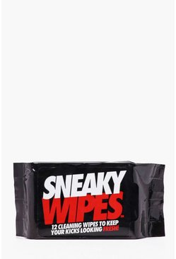 Mens Black Sneaky Wipes Shoe Wipes