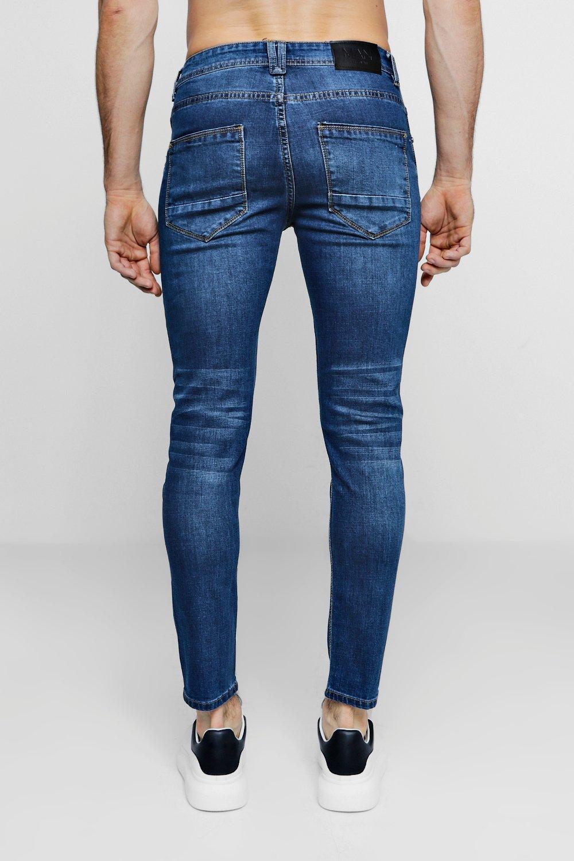 Fit mid blue Denim Skinny Jeans SnT8qqOP