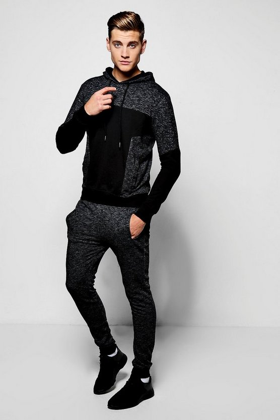 Fabric Block Tracksuit
