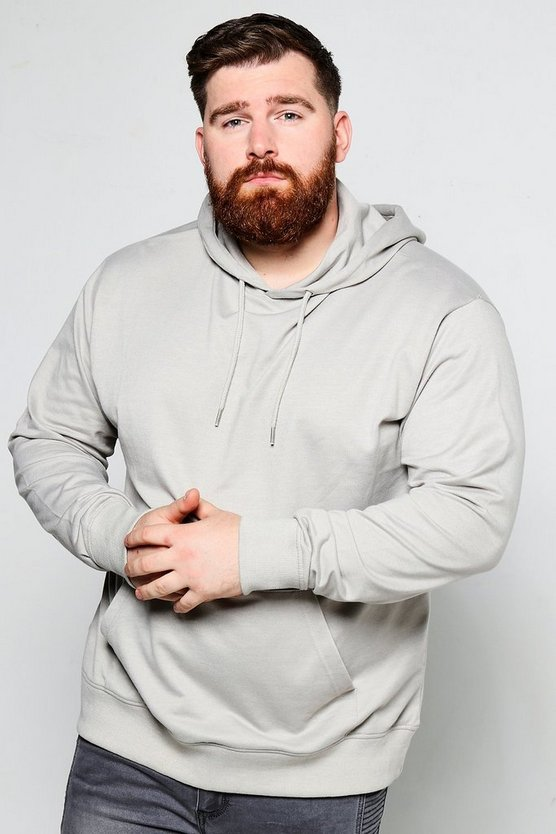 Big And Tall Over The Head Hoodie