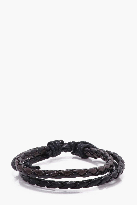 Plaited PU Bracelet
