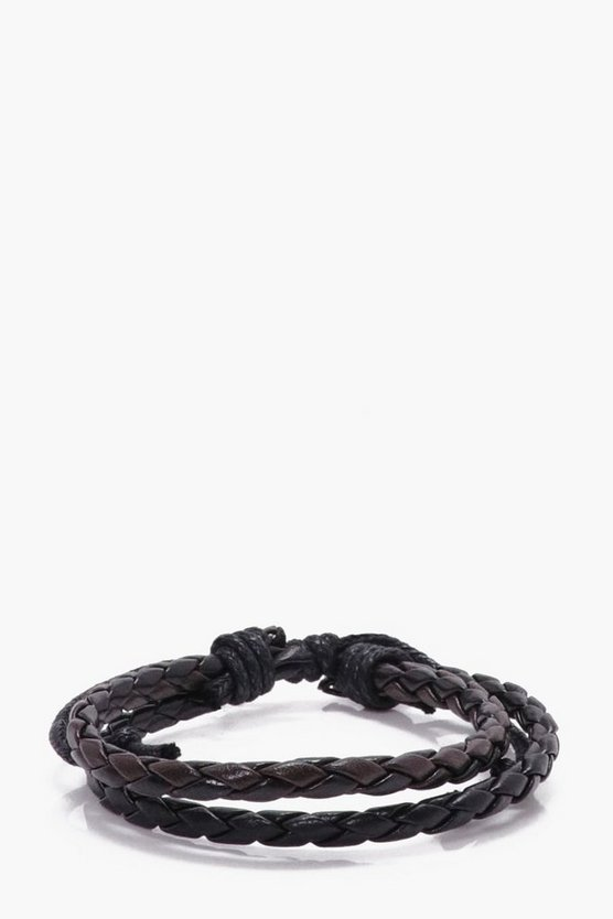 Plaited PU Bracelet