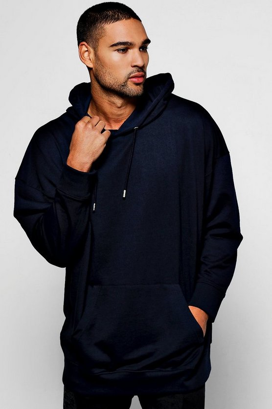 Lightweight Oversized Over The Head Hoodie