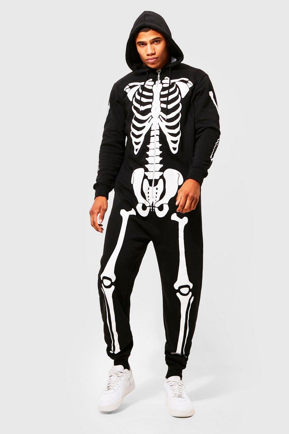 Halloween Black Skeleton Onesies  c68ff8697a