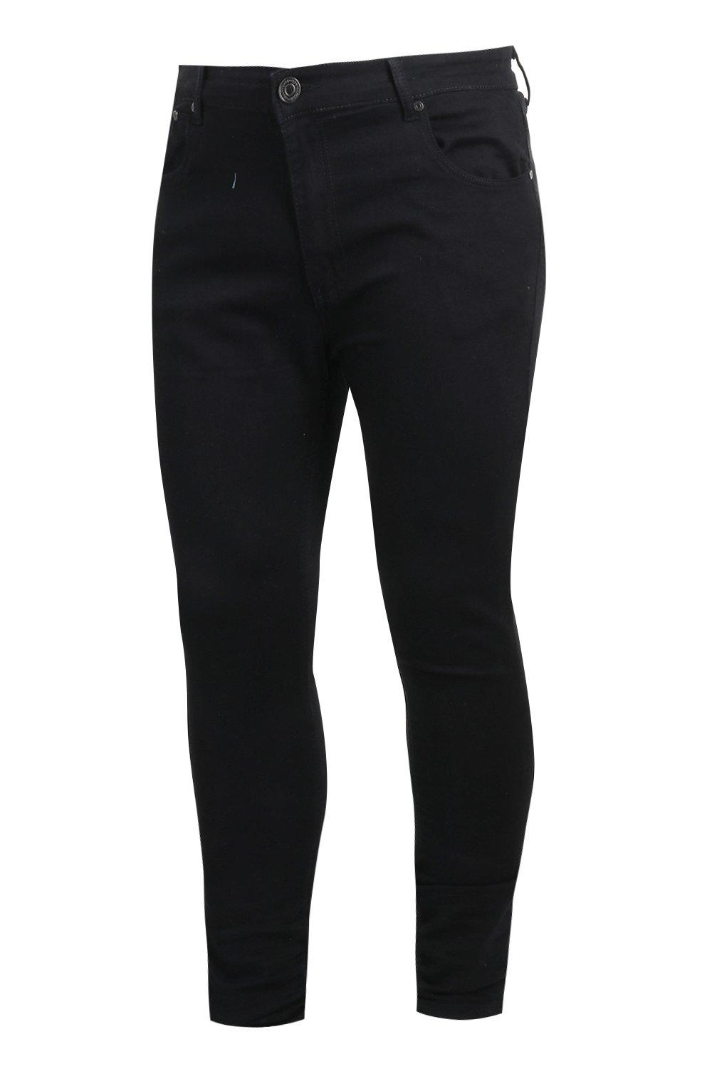 black And Rigid Fit Big Skinny Tall Jeans nZYnRq