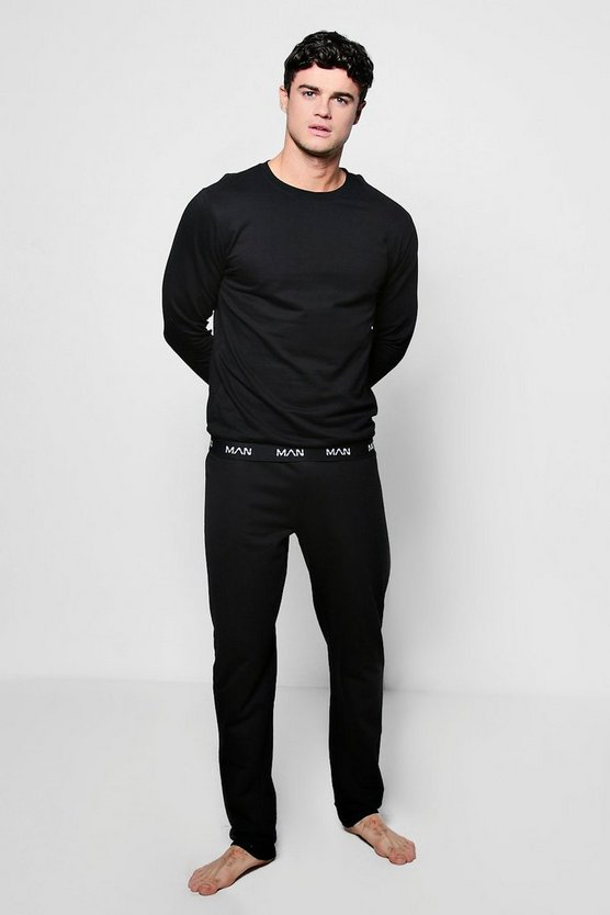 MAN Crew Neck Sweater And Lounge Pants