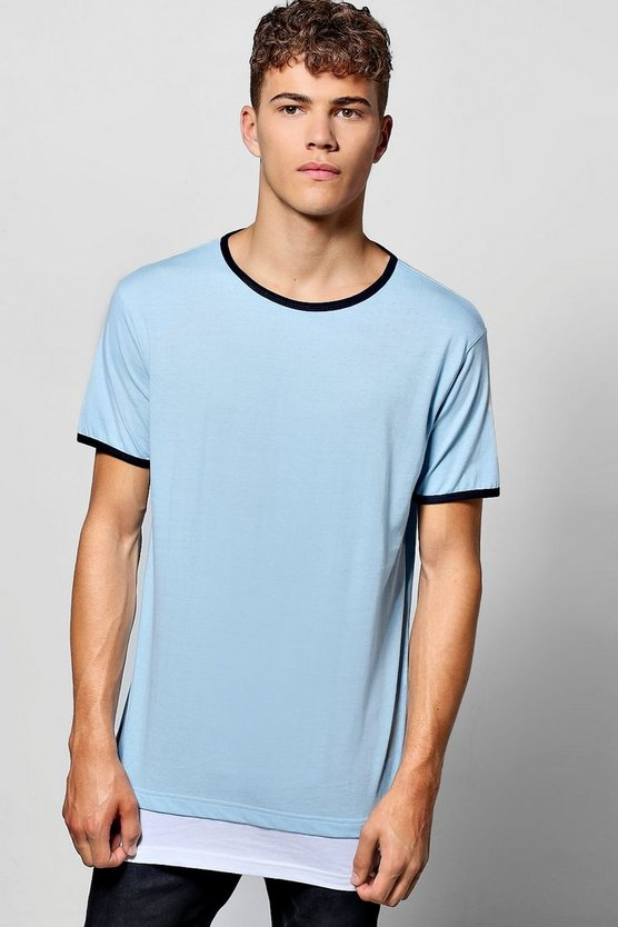 Faux Layer Ringer T-Shirt