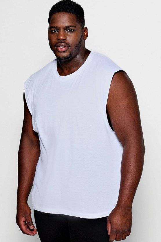 Big And Tall Basic Tank Vest