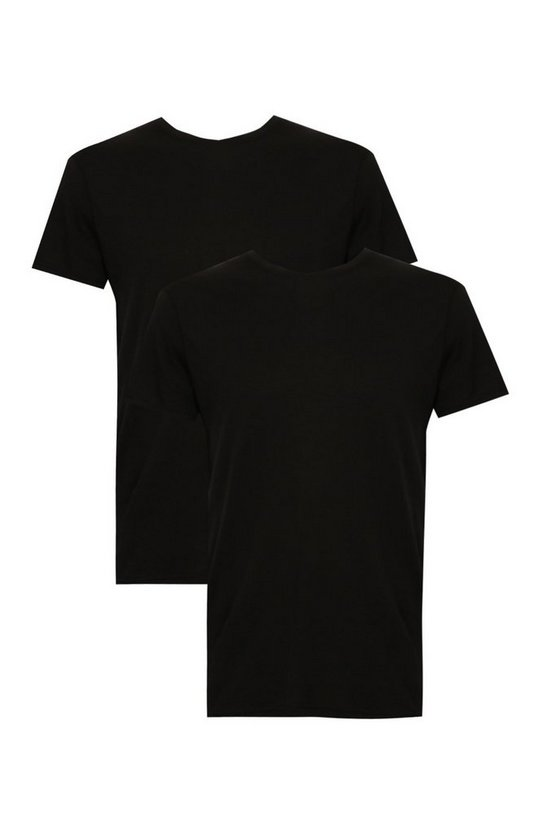 Big And Tall 2 Pack Basic Crew Neck T-Shirt