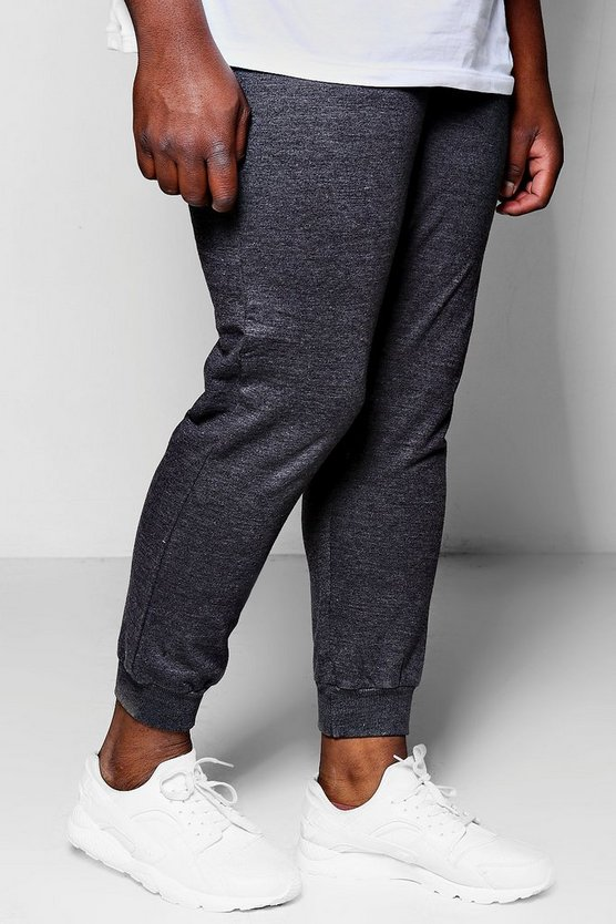 Charcoal Big And Tall Boohoo Man Joggers