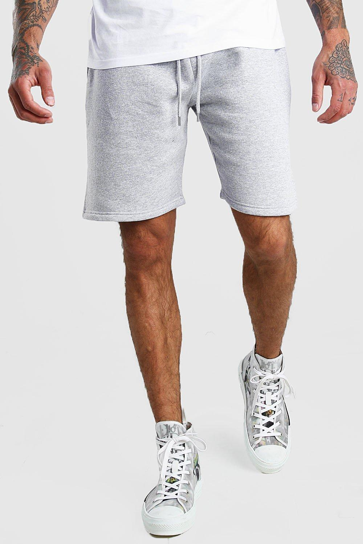 Basic Mid Length Jersey Shorts