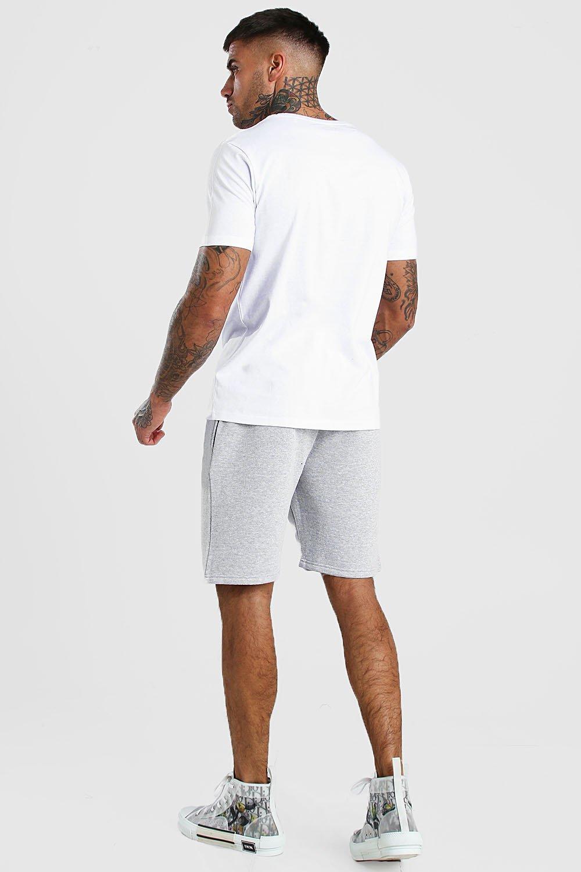 de marga Pantalones punto básicos cortos gris qHIwxIr5