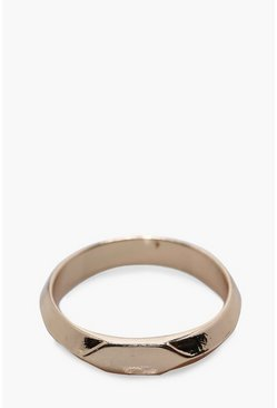 Mens Gold Vintage Pinkie Ring