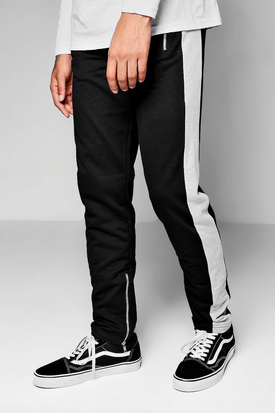 Zip Detail Side Panel Jogger