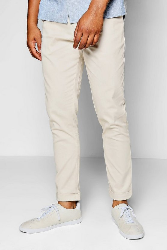 Stone Tapered Fit Chino With Stretch