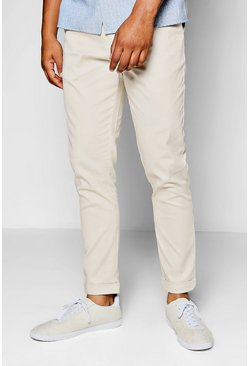 Stone Tapered Fit Chino With Stretch, Uomo