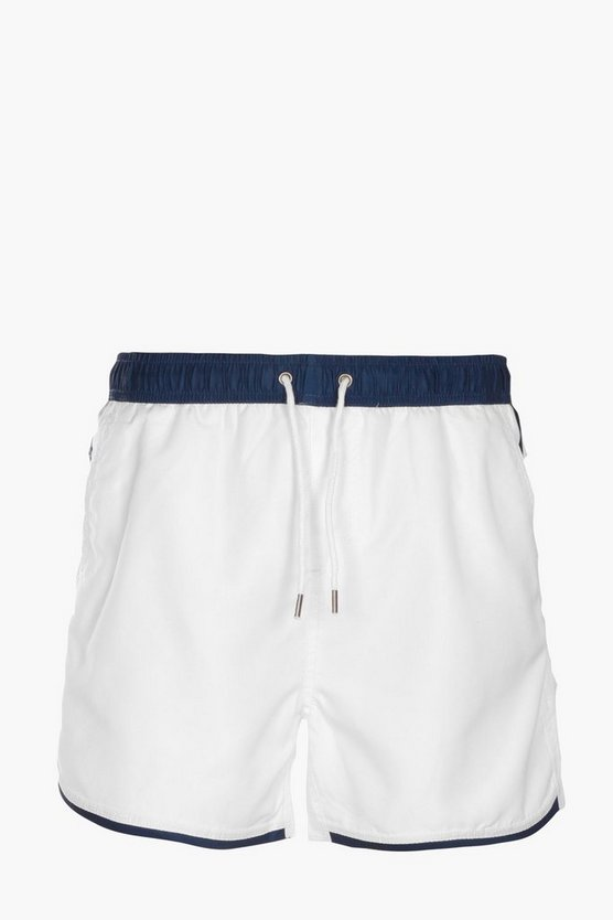 Colour Bloack Swim Shorts