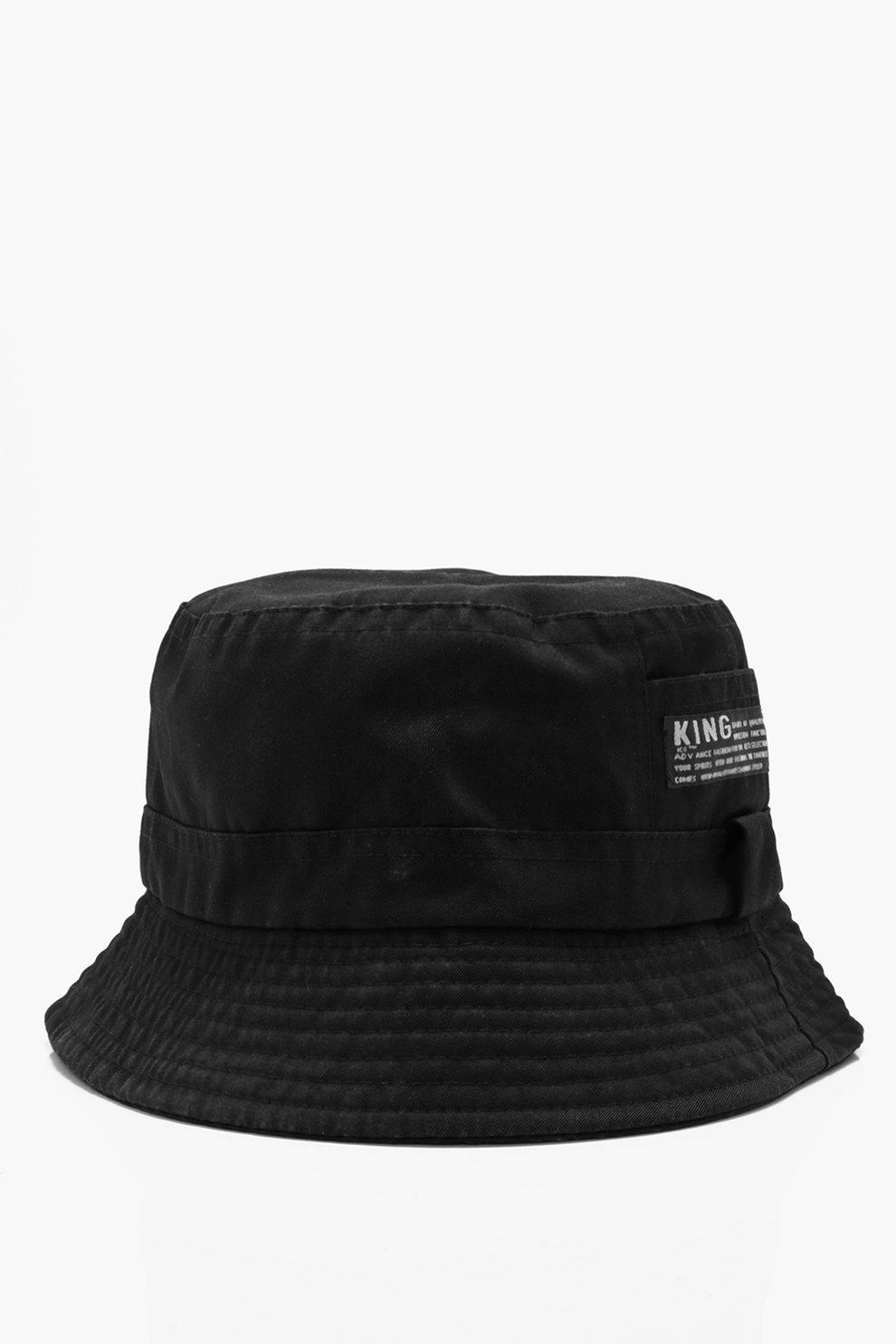 58a8a76ce3c Plain Bucket Hats