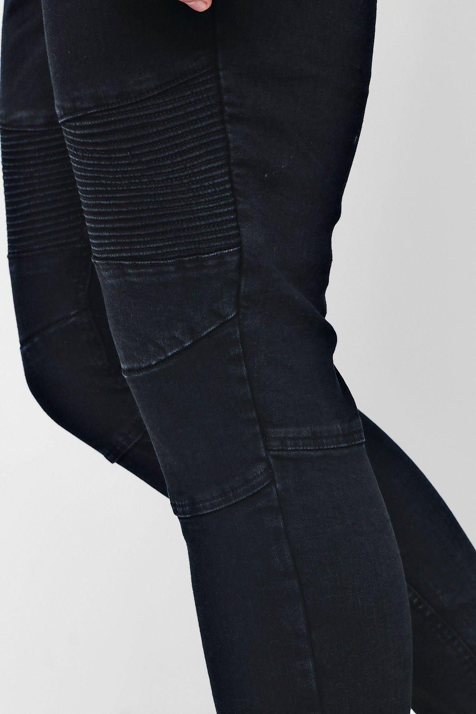 Jeans Fit Wash charcoal Biker Charcoal Skinny TnI7wCqTx6