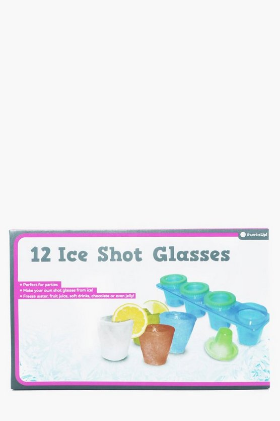 12 Pack Make Your Own Ice Shot Glasses