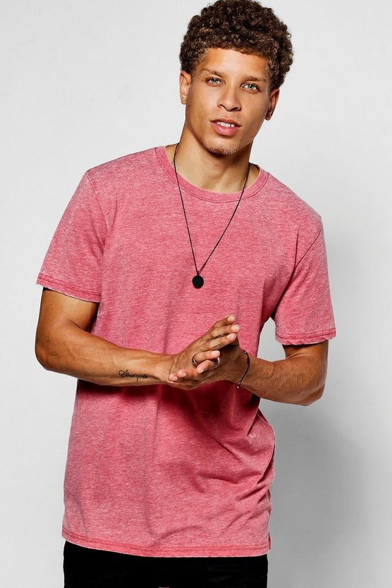 Longline Scoop Hem T-Shirt