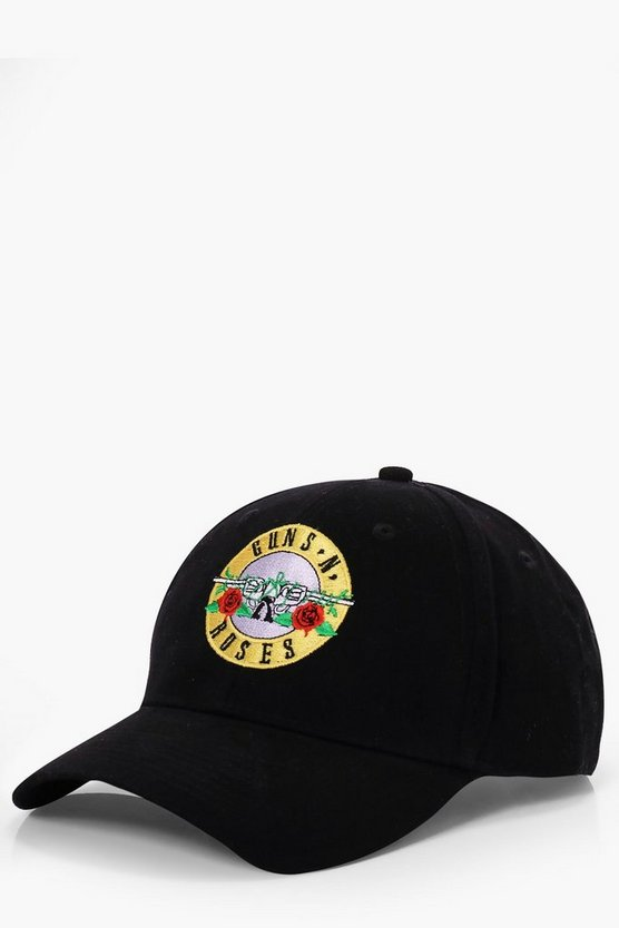 Guns And Roses License Embroidered Cap