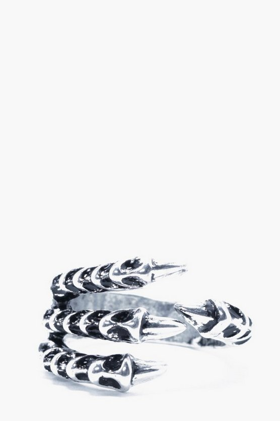 Silver Claw Ring