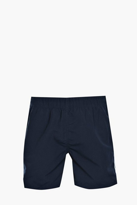 Navy Plain Swim Short