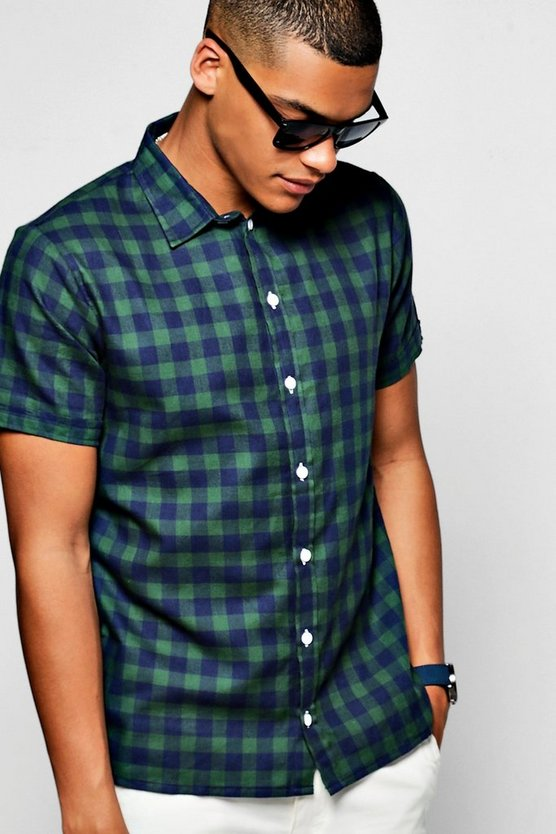 Buffalo Check Short Sleeve Shirt