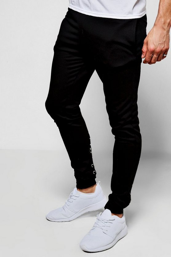 Skinny Fit Jogger with Lace Up Back