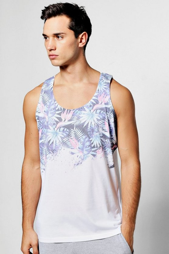 Tropical Faded Sublimation Vest