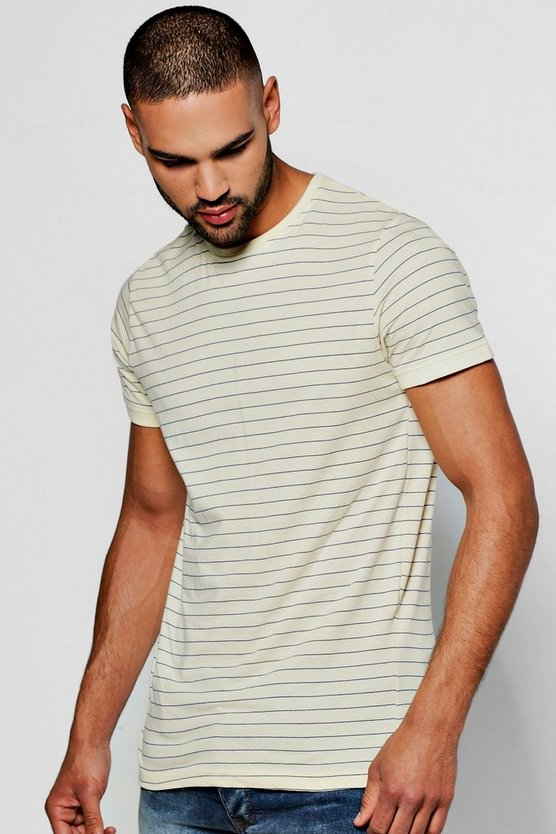 Yarn Dye Stripe T-Shirt
