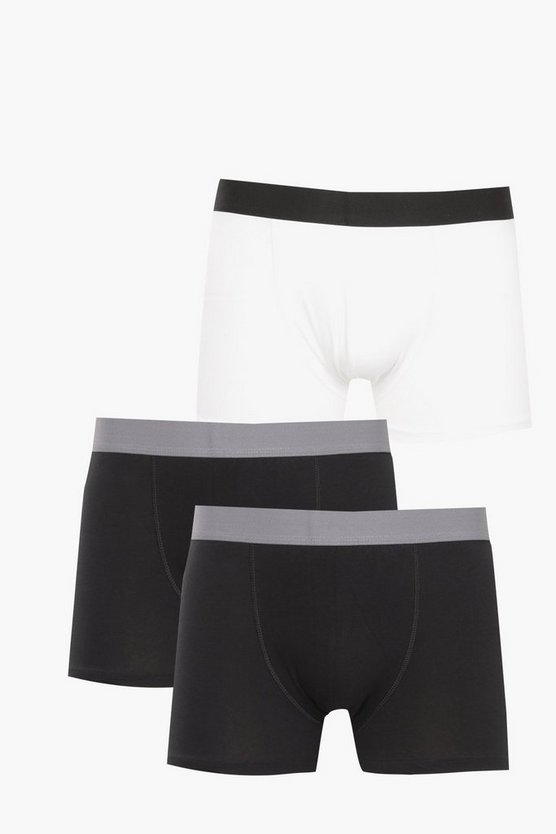 3 Pack Mixed Boxer Shorts