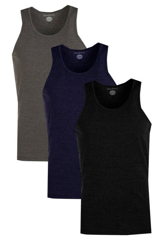 3 Pack Muscle Vests