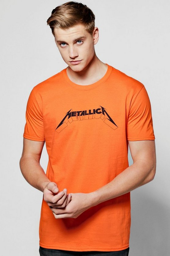 Oversized Metallica License Band T Shirt