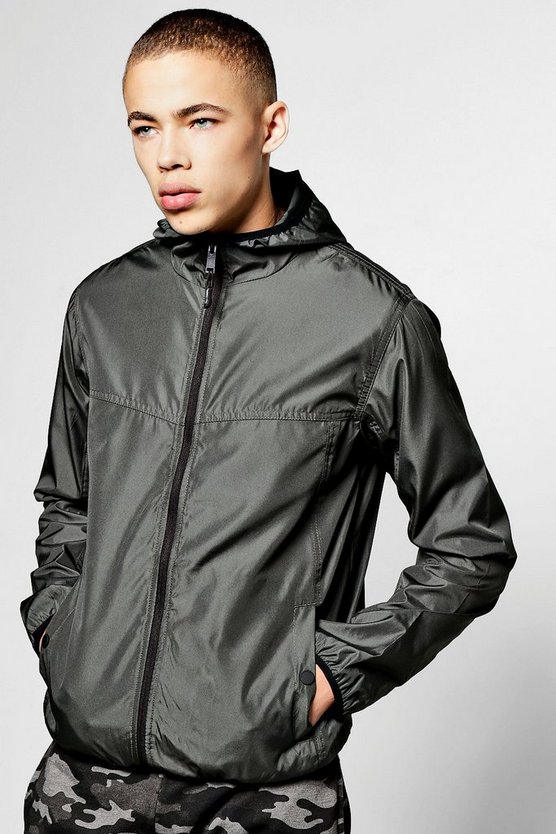 Shower Resistant Hooded Cagoule