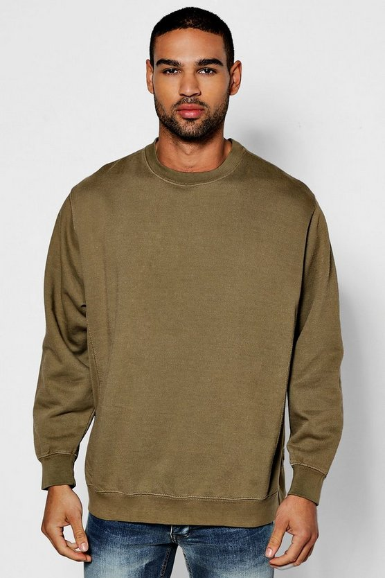 Oversized Enzyme Washed Sweater