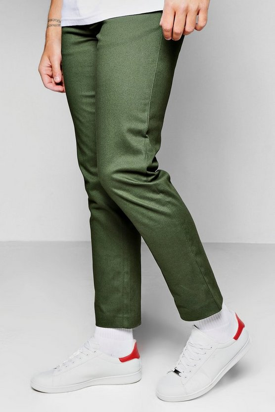 Straight Fit Chino With Stretch